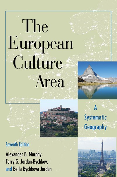 The European Culture Area: A Systematic Geography cover
